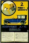 Audi Automobile Car Postcard
