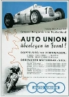 Auto Union Audi Race Advertisement