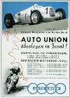 Auto Union Audi Rennen Plakat
