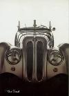 Bmw 328 Automobile Car Postcards - Postcard Reprint