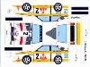 Bastelpostkarte Audi Quattro S1 Hb