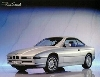 Bmw 850i Automobile Car Pocard - Postcard Reprint