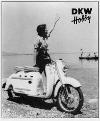 Dkw Hobby 1955 Motor Scooter