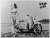 Dkw Hobby Werksarchiv 1955 Motorroller