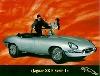 Jaguar Xk Original Jubiläumskarte - Postkarte Reprint
