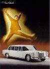 John Lennon Drove Mercedes Benz - Postcard Reprint