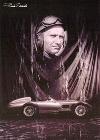 Juan Manuel Fango Fuhr Mercedes - Postkarte Reprint