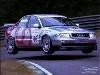 J Bintcliffle Audi A4 Race - Postcard Reprint