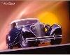Mercedes Benz Kompressor 540 K - Postkarte Reprint