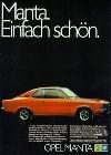 Opel Manta A 1974