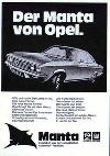 Opel Manta A Advertisement