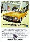 Opel Rekord Ii Anzeige 1972