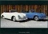 Porsche 356 Vor-a-cabrio And C - Postcard Reprint