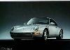Porsche 911 Carrera 993 - Postcard Reprint