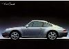 Porsche 911 Carrera 993 Sideshot - Postkarte Reprint