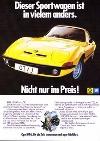 Opel Gt 1972