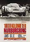 Porsche Rennplakat Reprint 1000km Nürburgring - Postkarte Reprint