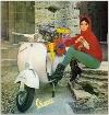 Vespa Kalenderblatt Aus 60ern Motorroller