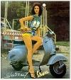Vespa Calenders Sixties Motor Scooter