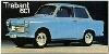 Trabant 601 Advertisement 1971 - Postcard Reprint