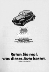 Vw Käfer 1968