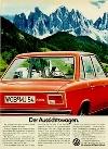 Vw Volkswagen K 70 Werbung
