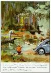 Vw Volkswagen Beetle Advertisement 1955