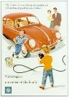 Vw Volkswagen Käfer Werbung 1959