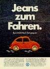 Vw Volkswagen Käfer Werbung 1974