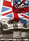 Porsche Postkarte - Boac 1000 Km Von Brands Hatch 1970