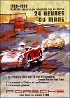 Porsche Postkarte - 24 Stunden Von Le Mans 1950-56