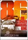 Porsche Postkarte - 86 Stunden Nürburgring 1970