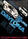 Porsche Postkarte - 24 Stunden Von Daytona 1971