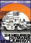 Porsche Postkarte - 24 Stunden Von Le Mans 1971