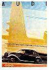Audi 920 1938-1940 - Postkarte Reprint