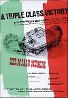 Porsche Postkarte - Mille Miglia 1954
