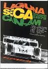 Porsche Postkarte - Can-am Laguna Seca 1972